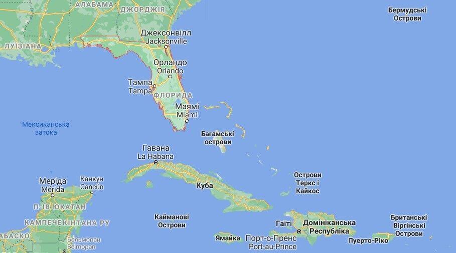 Синоптики спрогнозували наближення шторму до Флориди