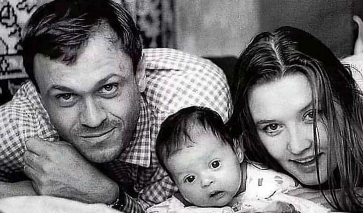 Володимир Меньшов зі своєю сім'єю.