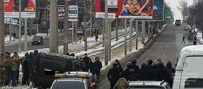 Днепрян шокировали беспорядки и стрельба, устроенные людьми Краснова в центре города