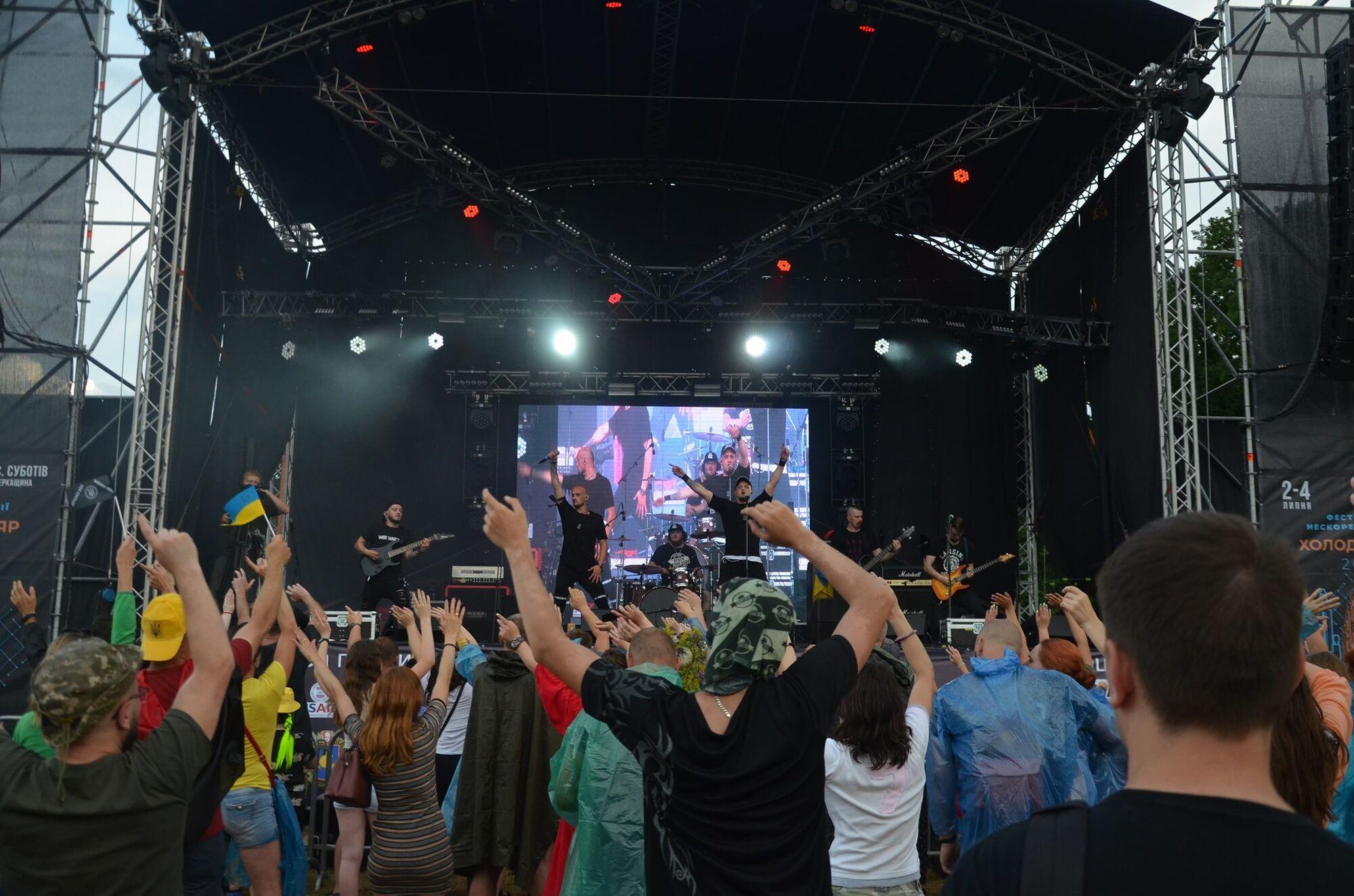 На фестивале выступили много украинских коллективов