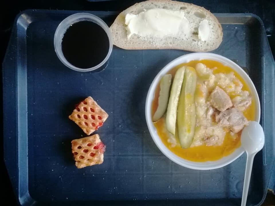 Харчування для українкою військового