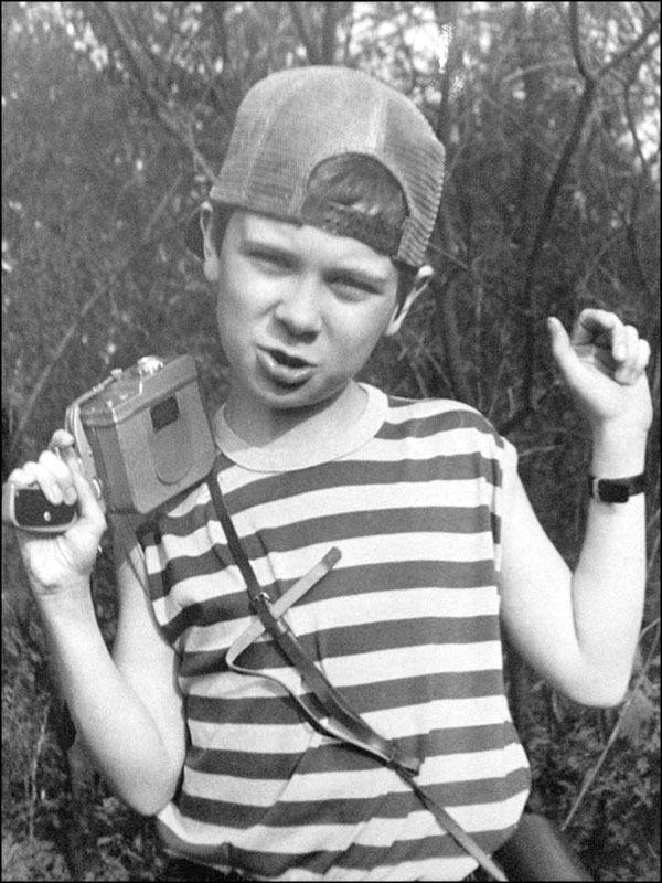 Дмитрий Комаров в подростковом возрасте