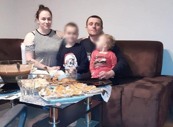 Андрій Сірко з родиною.