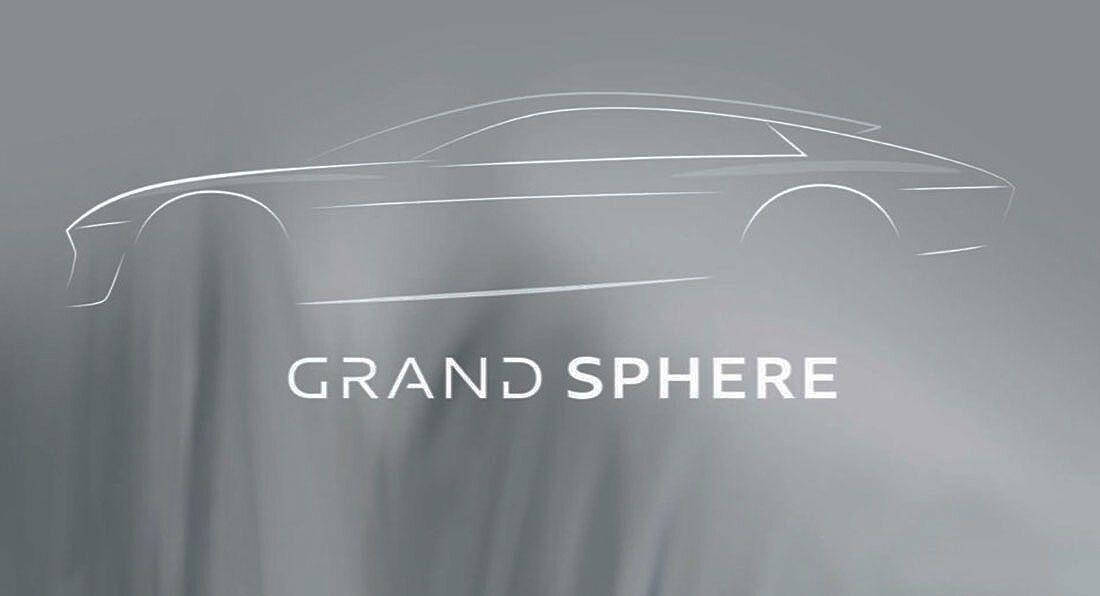 "Grand Sphere – прообраз будущей модели класса ""Гран туризмо"" в кузове спортседан"