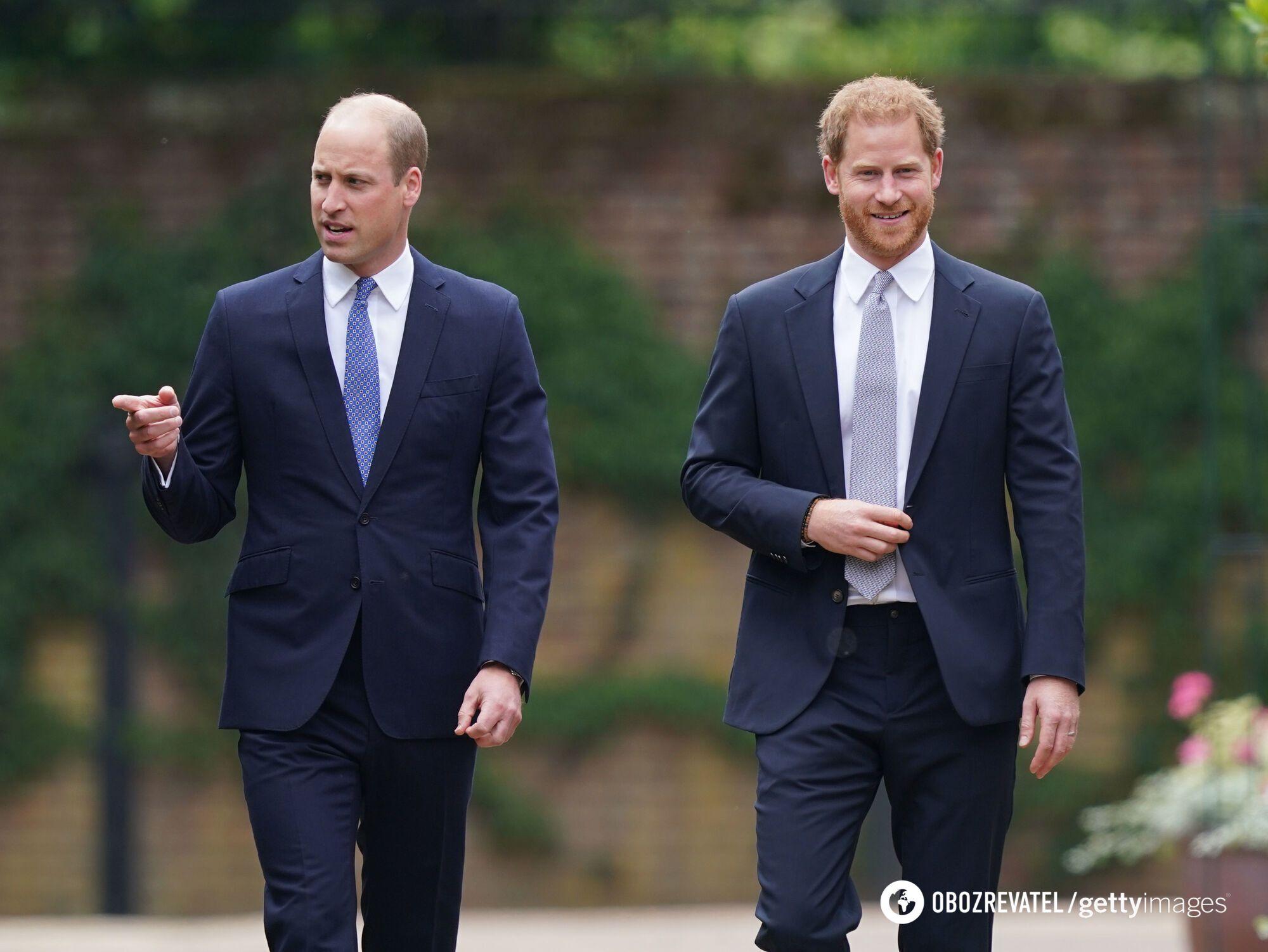 Принци Вільям і Гаррі зустрілися.