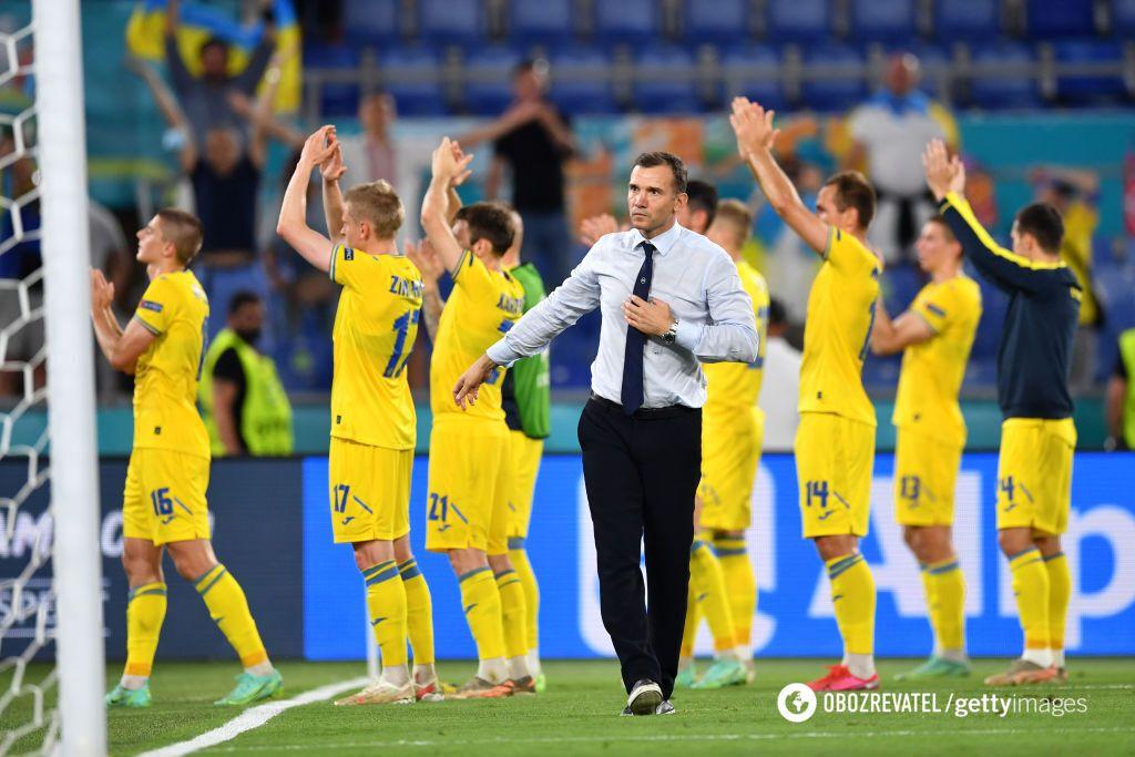 Шевченко після матчу з Англією на Євро-2020.