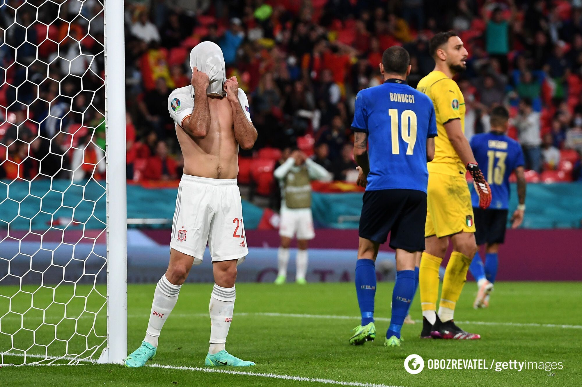 Во втором тайме Испания упустила много моментов.