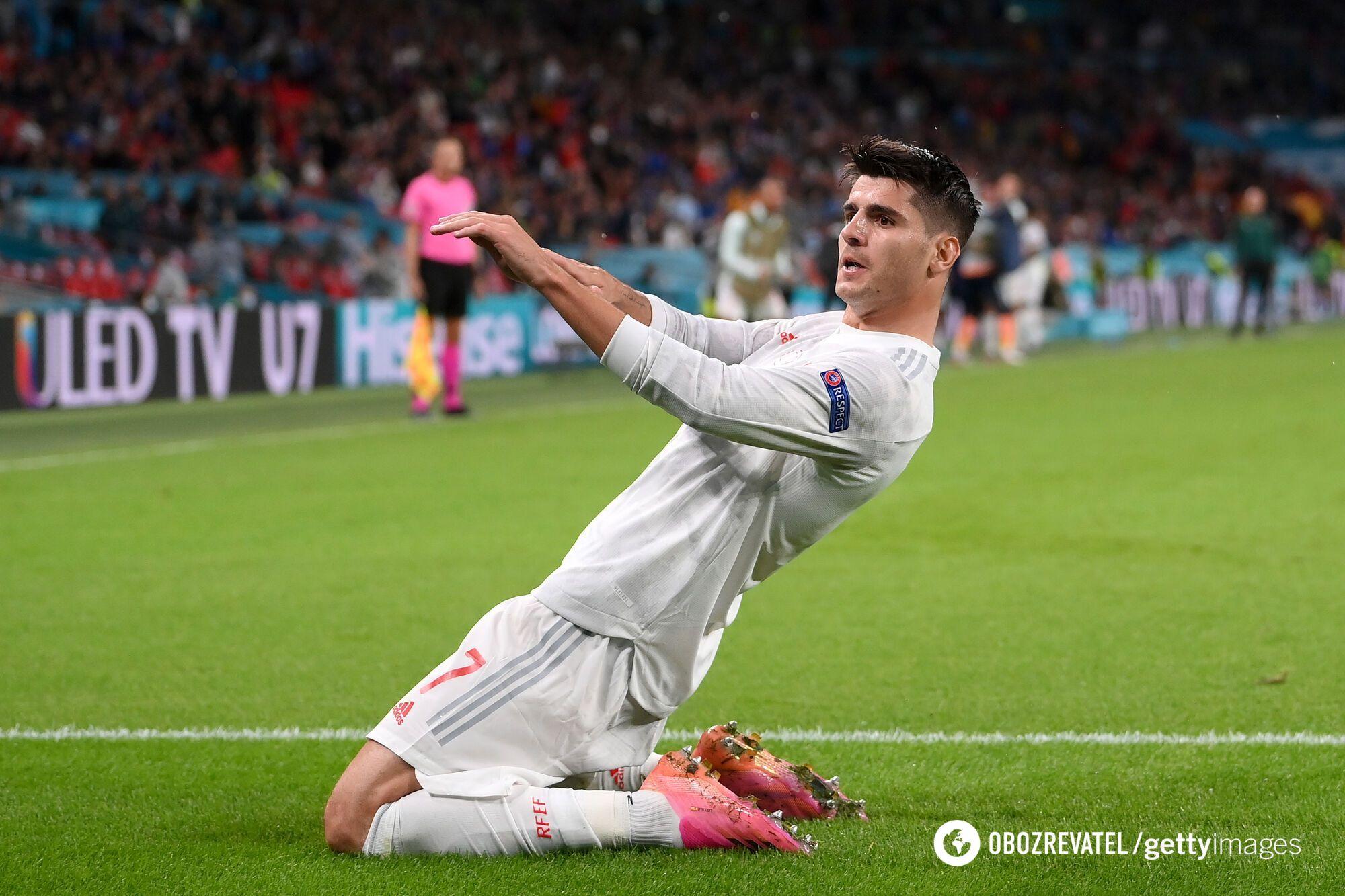 Альваро Мората перевел игру в овертайм