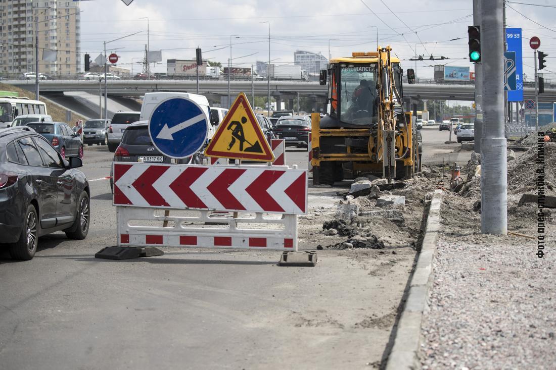 Сейчас идут активные работы на объектах дорожной инфраструктуры