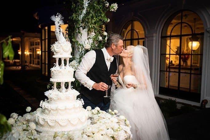 Гвен Стефані зі своїм чоловіком.