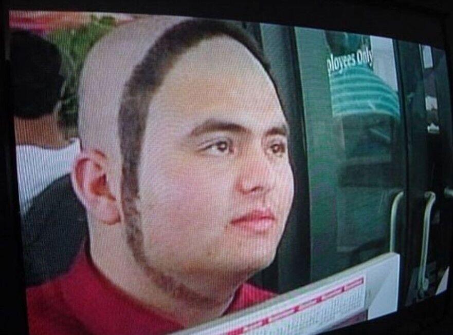 """Стрижка """"круглая борода""""."""