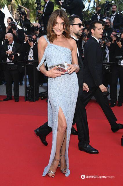 Карла Бруні обрала сукню Celine