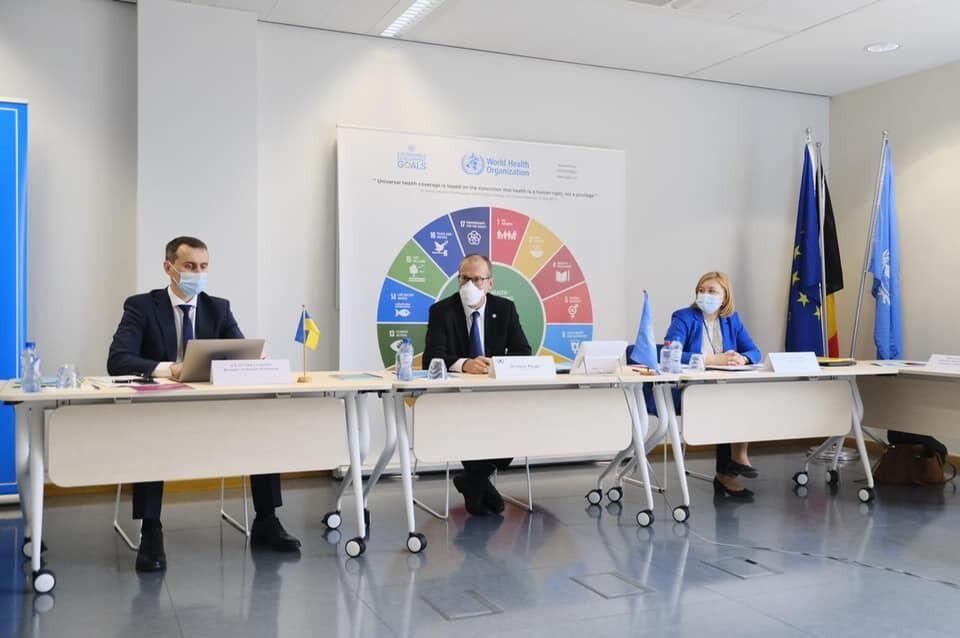 Ляшко провел встречу с директором Европейского регионального бюро ВОЗ