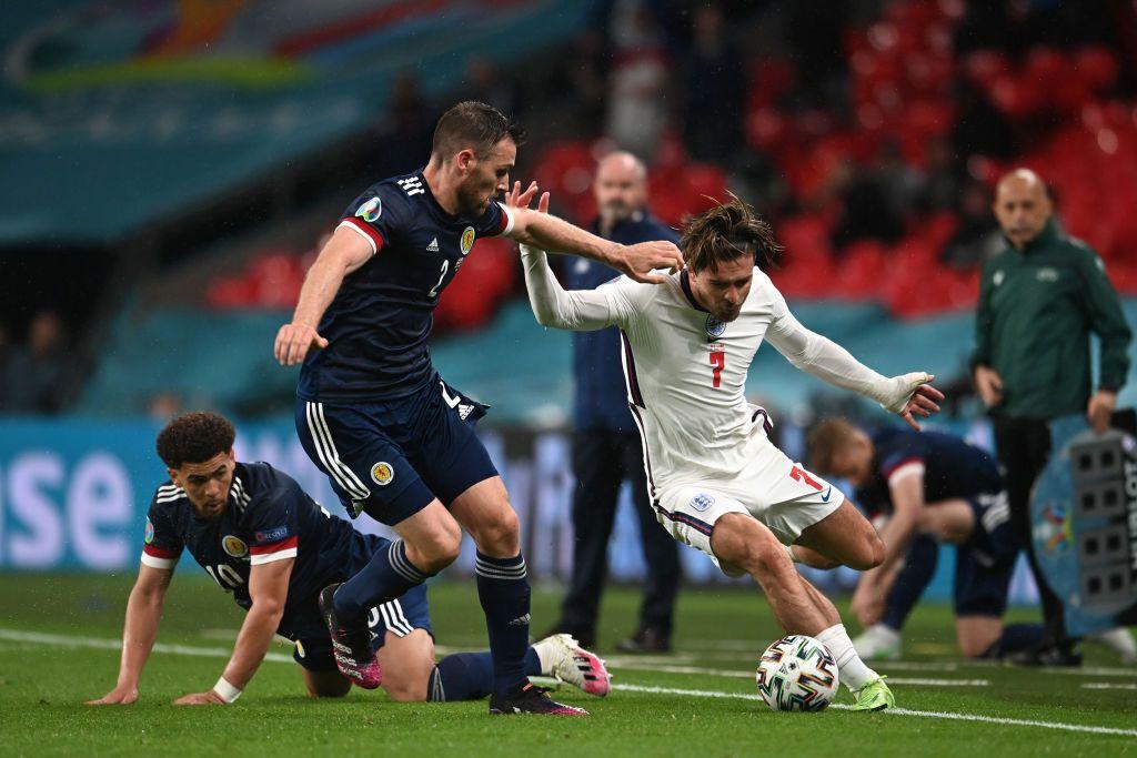 Англия сыграла вничью с Шотландией