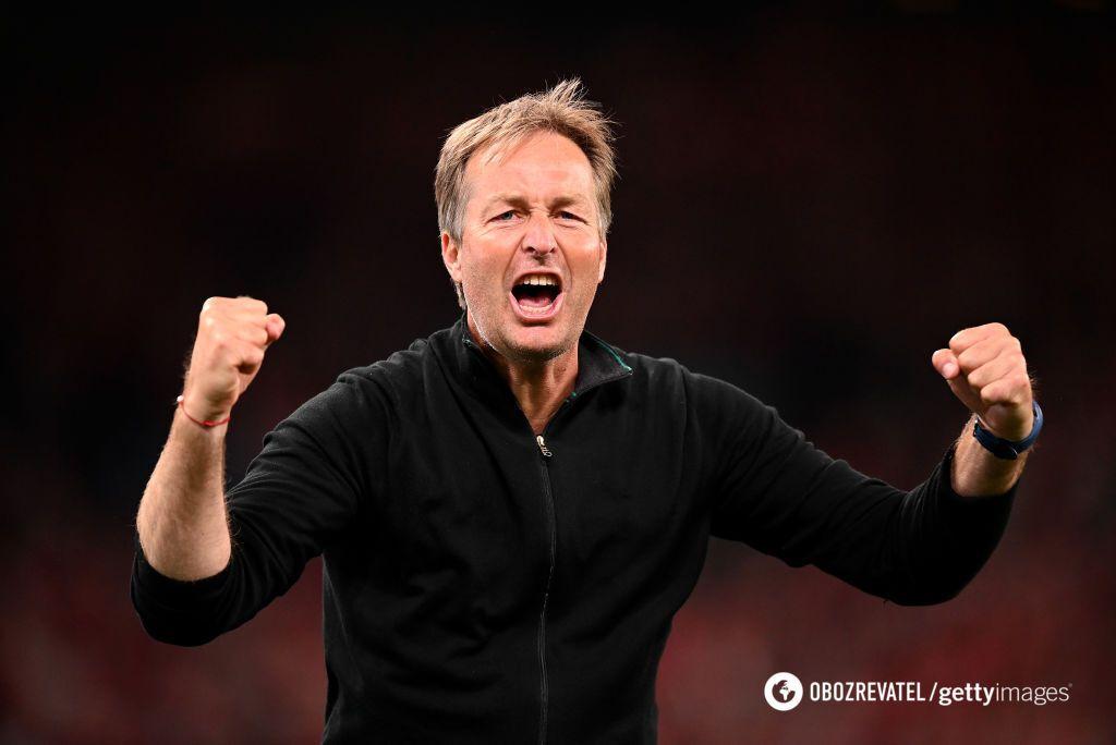 Каспер Юльманн, головний тренер збірної Данії.