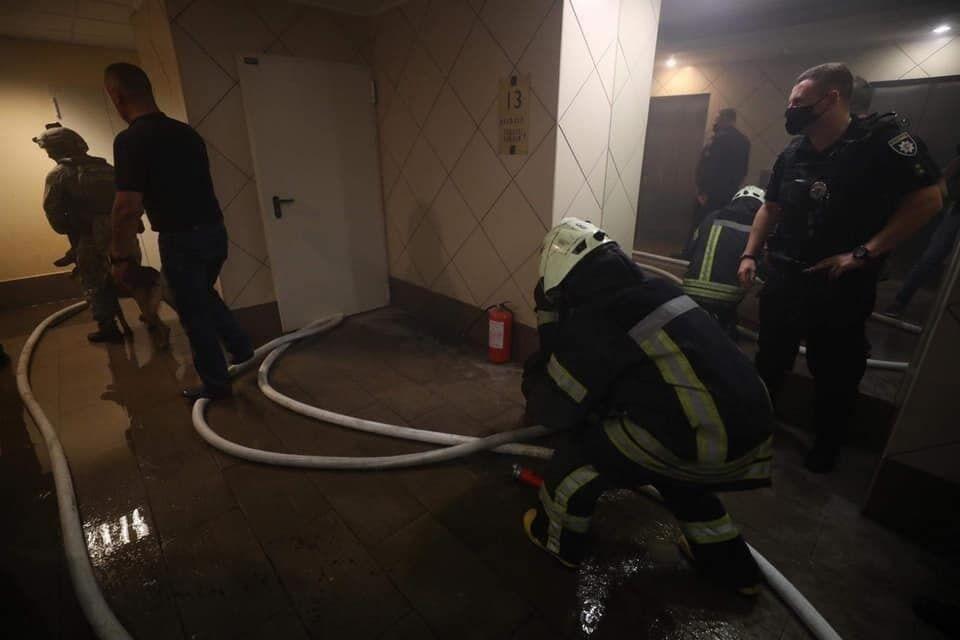 Чоловік влаштував у квартирі підпал