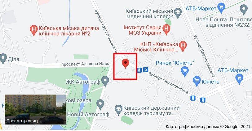 Грабеж произошел на ул. Миропольской в Киеве