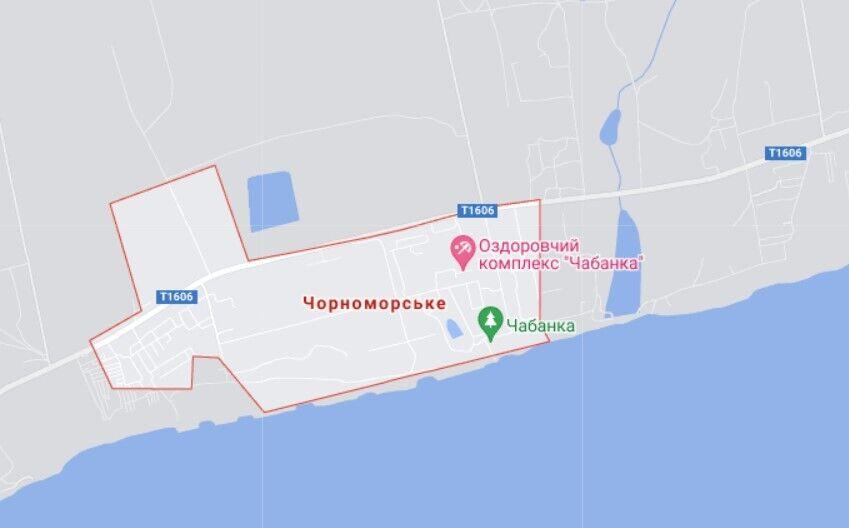 Трагедия произошла в поселке Черноморское