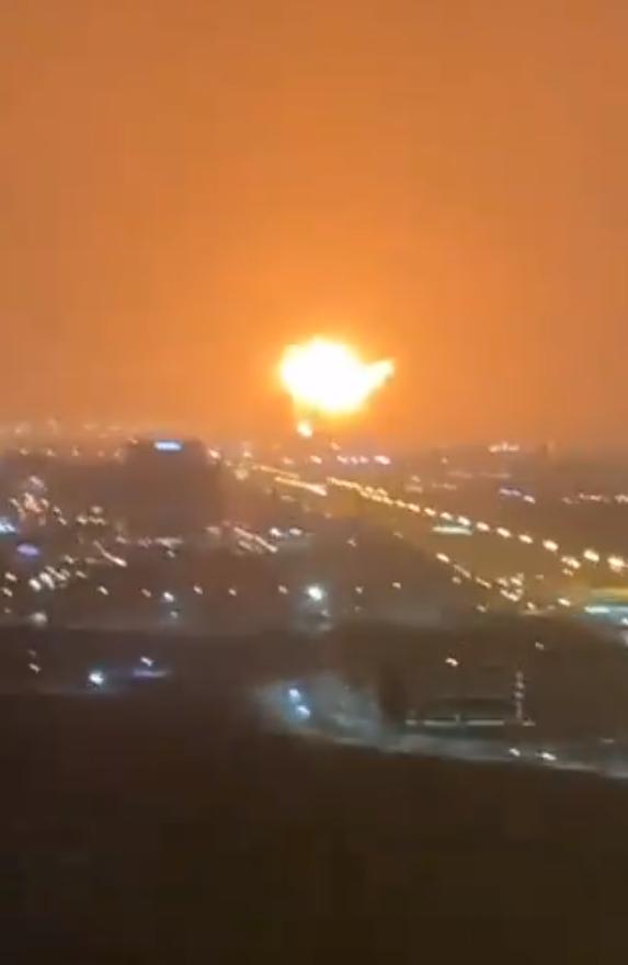 Взрыв в порту Дубая