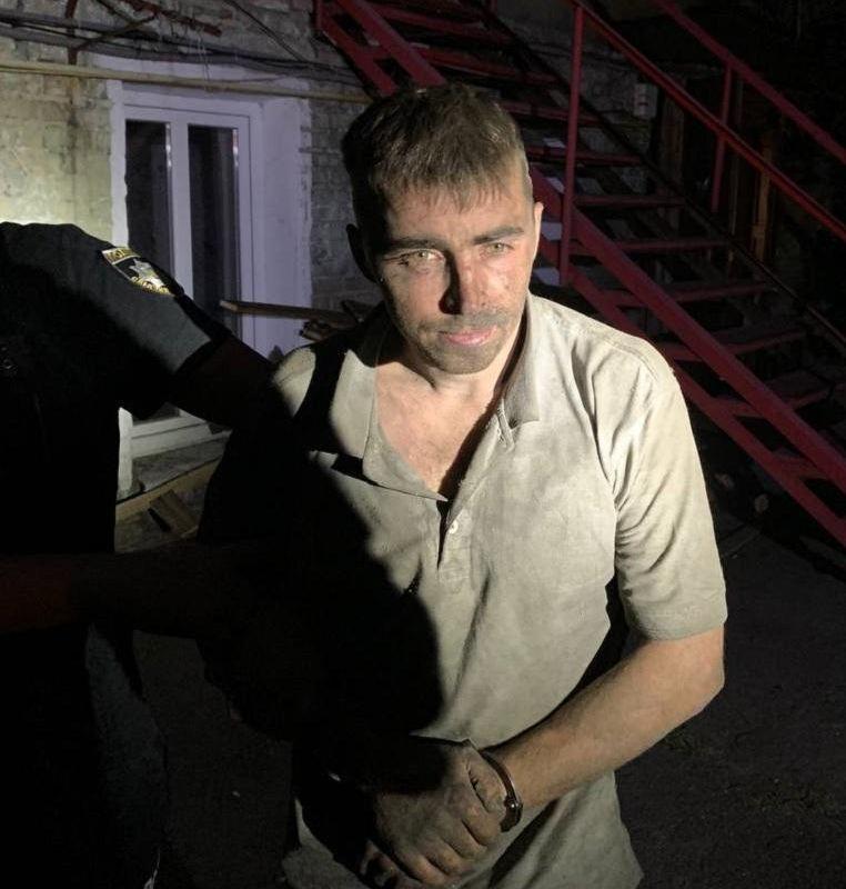 Євгена Замятіна було затримано 7 липня на вул. Хорива в Києві.