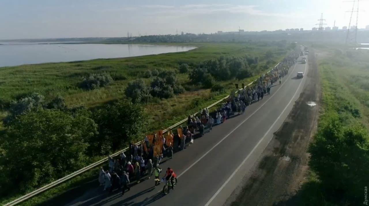 Крестный ход под Одессой.