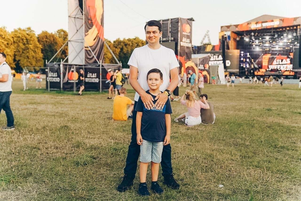Глава РВ и его старший сын