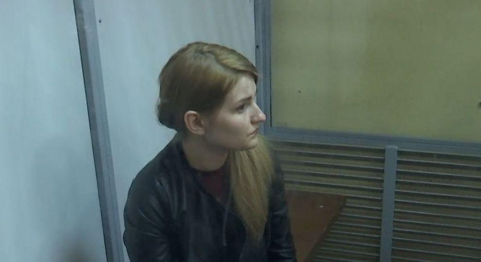 Владислава Трохимчук на суді