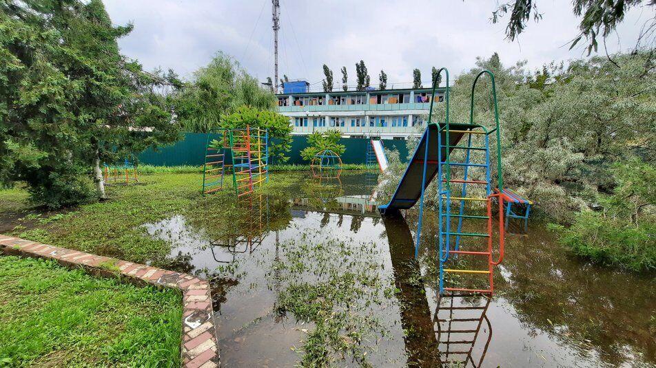 Підтоплене селище Коблеве