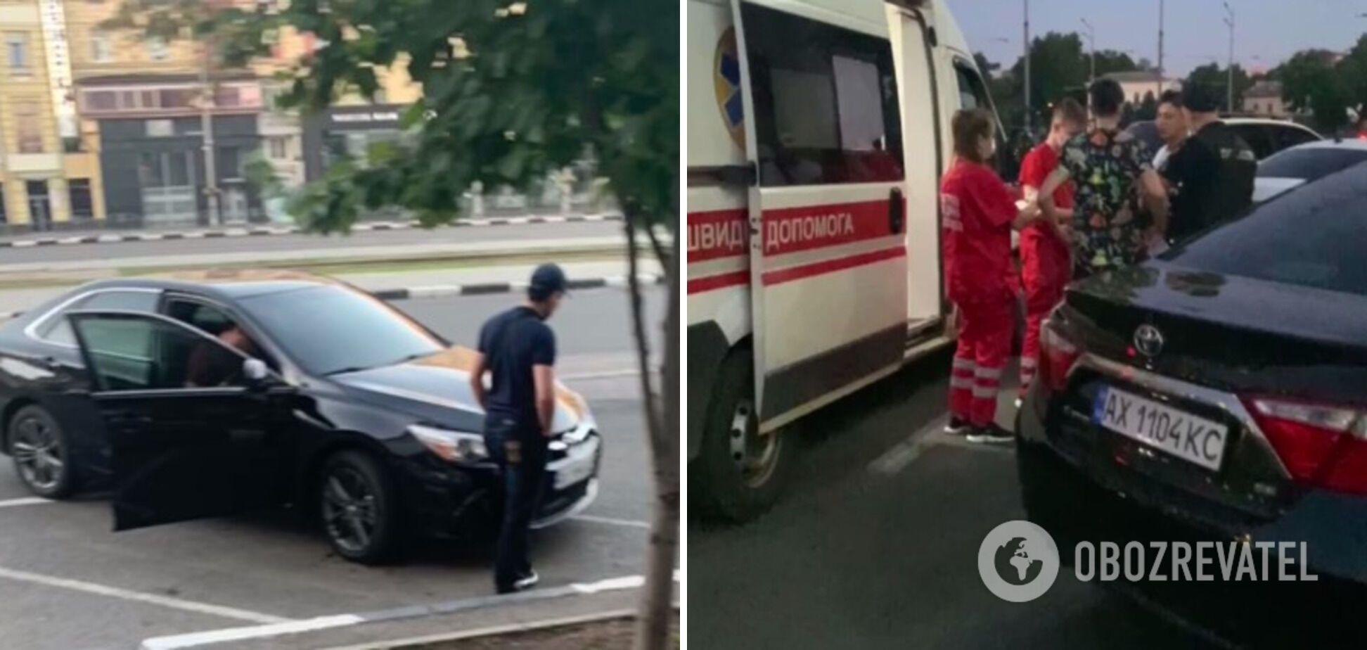 Винуватець нападу втік із місця інциденту на авто