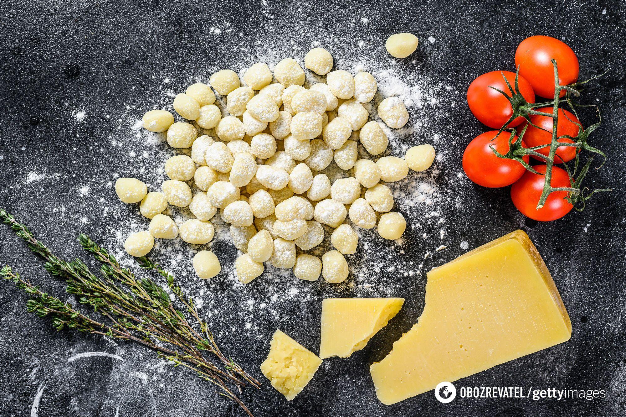 Ньокки можна робити з різними овочами