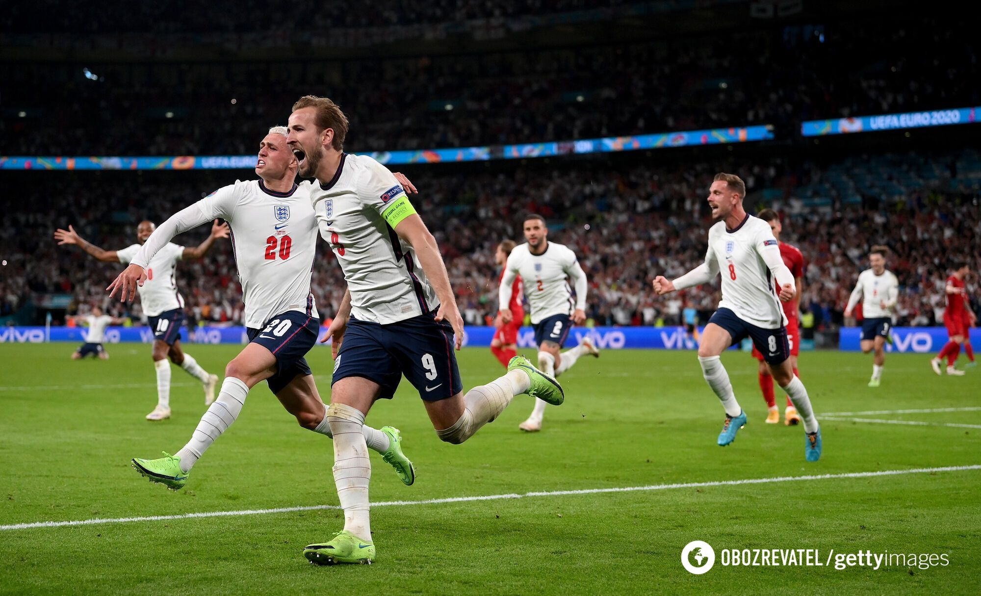 Гаррі Кейн забив переможний гол.