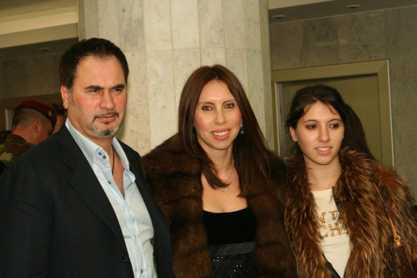Меладзе з першою дружиною.