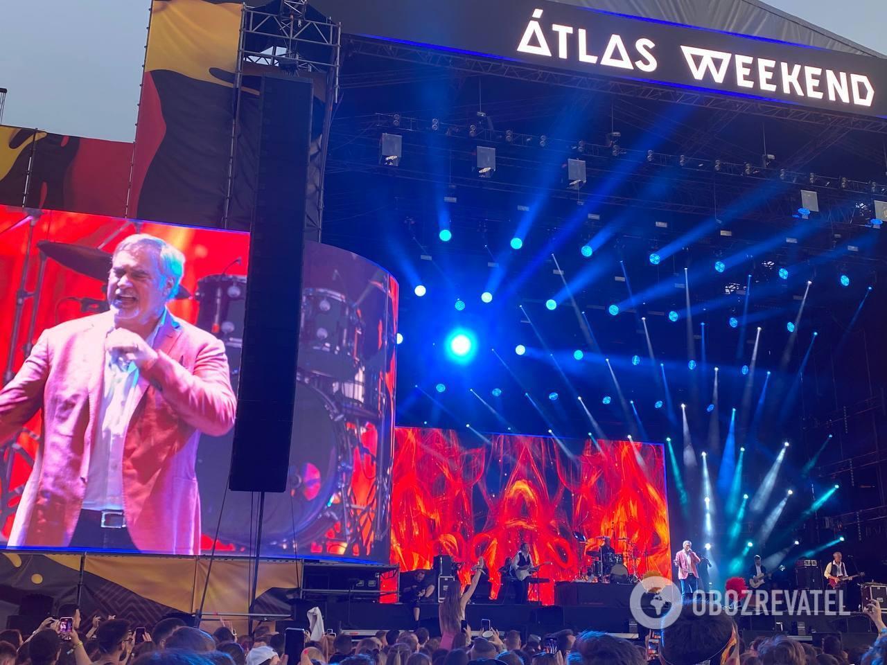 Валерий Меладзе на Atlas Weekend 2021.
