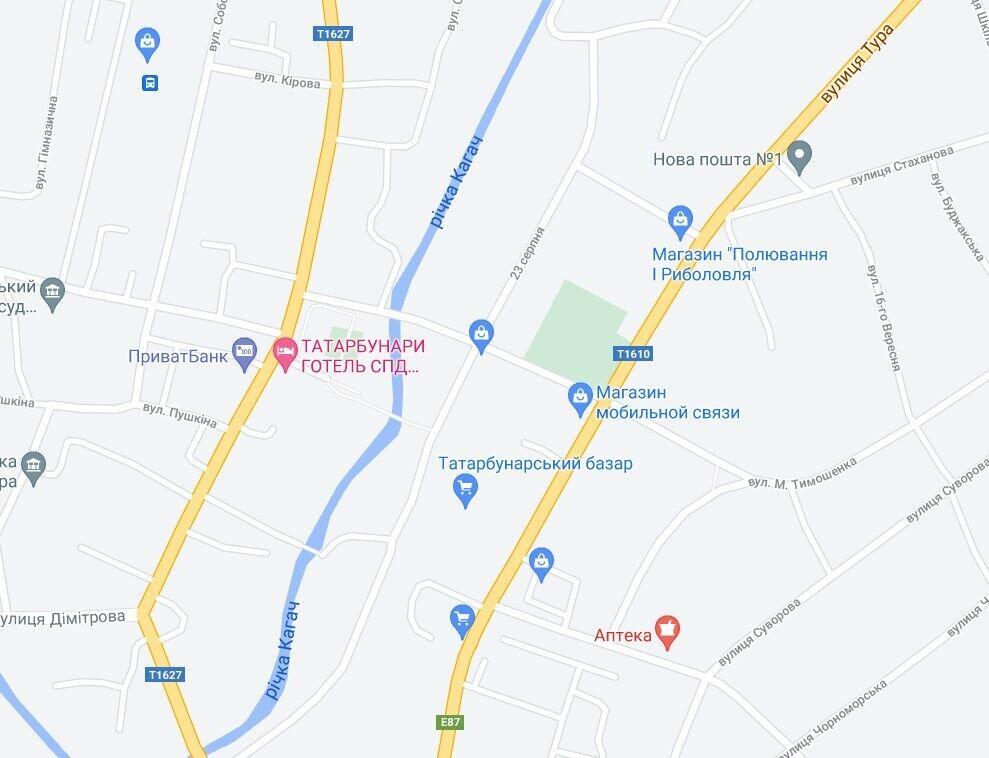 ДТП произошло на улице Василия Тура в Татарбунарах