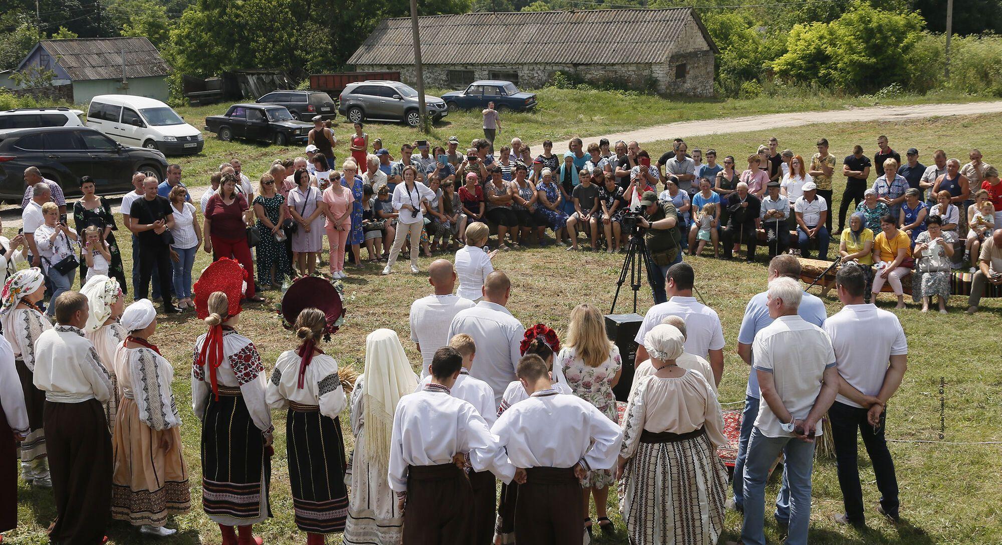 Свято першого снопа на Вінниччині