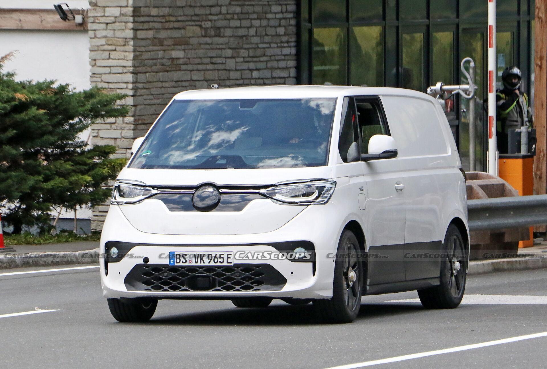 На дороги Німеччини виїхав тестовий фургон VW ID.Buzz