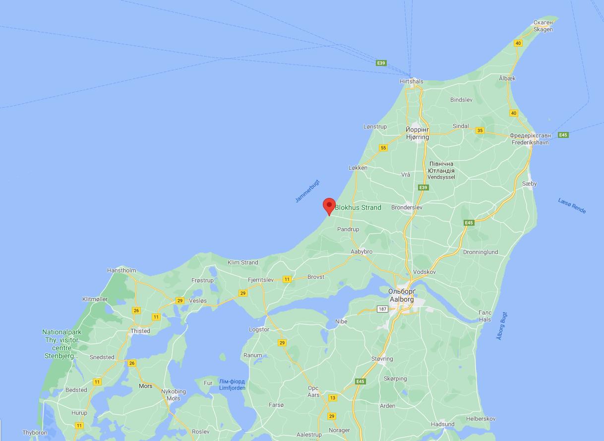Блокхус в Дании
