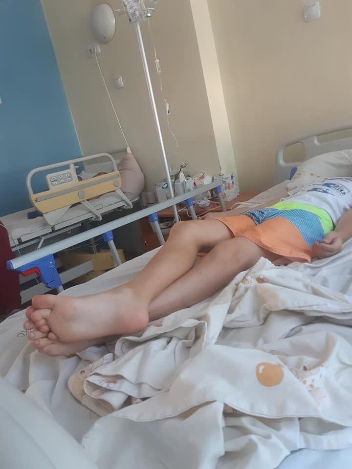 Мальчика госпитализировали.