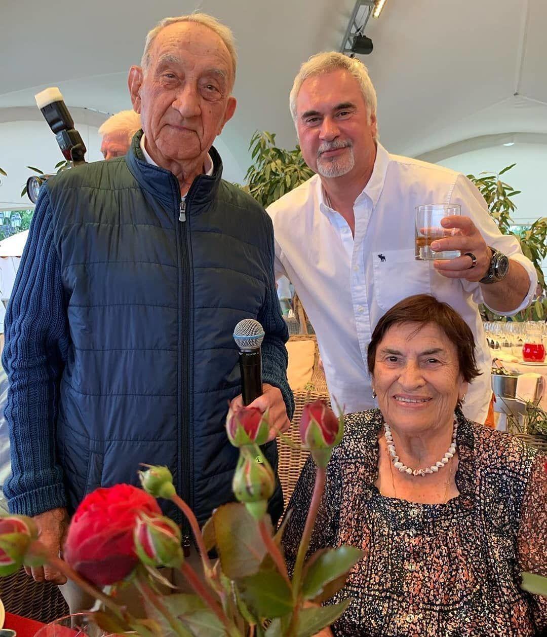 Валерій Меладзе з батьками.