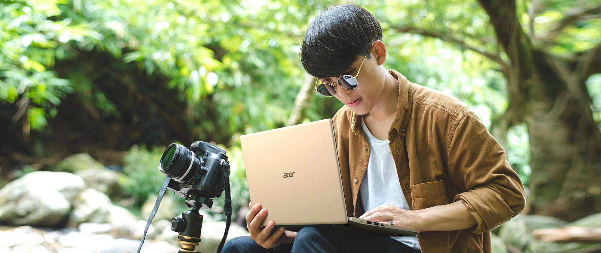 Acer Swift 3х: ноутбук з мобільною графікою нового ґатунку