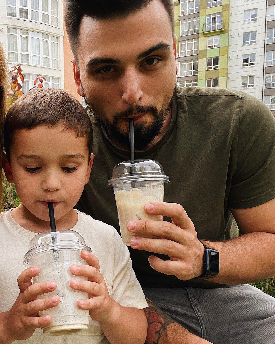 Ігор Пустовіт із сином