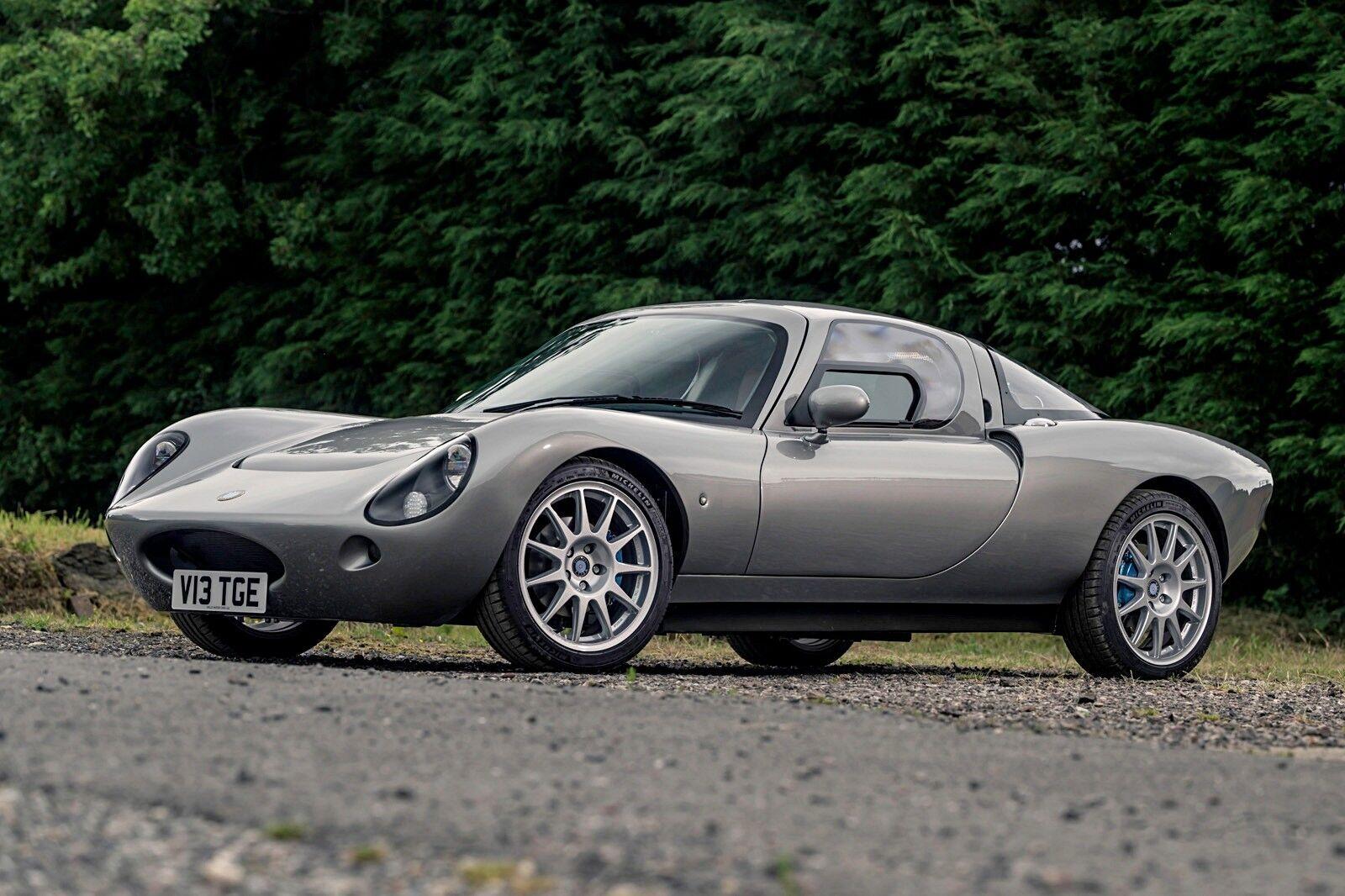 Компактное среднемоторное купе Wells Vertige вдохновлено классическими британскими автомобилями