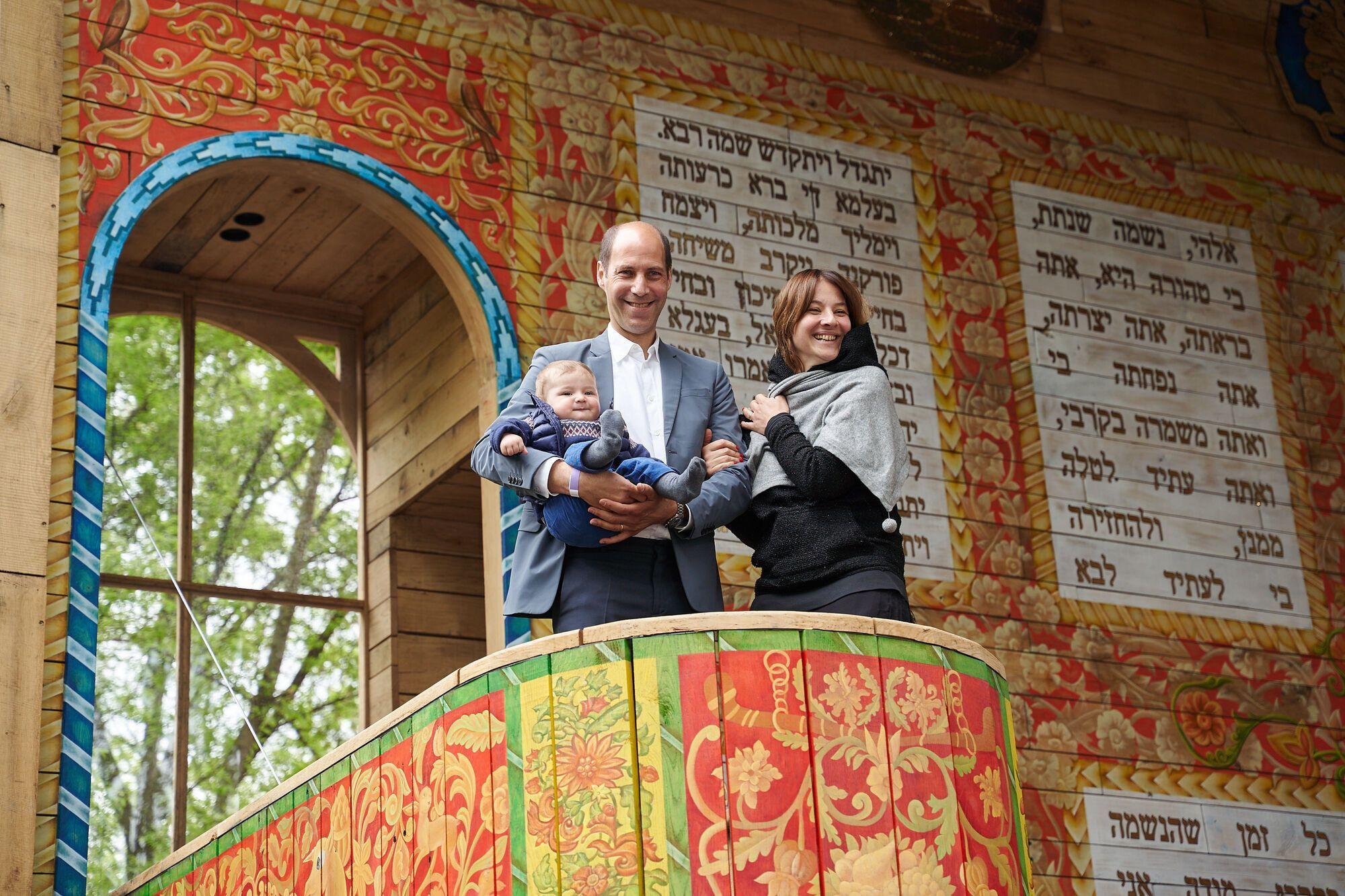 Синагога Герца стала первой из серии объектов, которые будут возведены в Бабьем Яру в течение следующих нескольких лет
