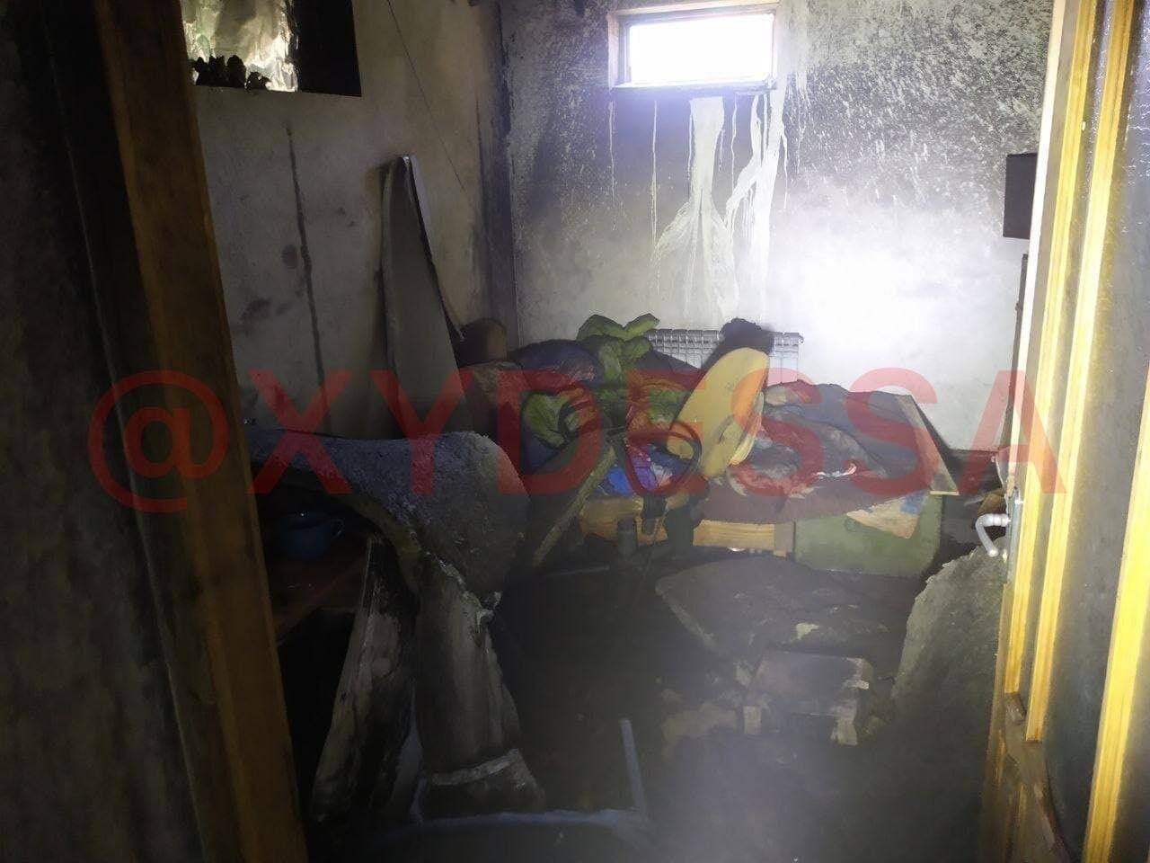 В доме взорвался газовый баллон