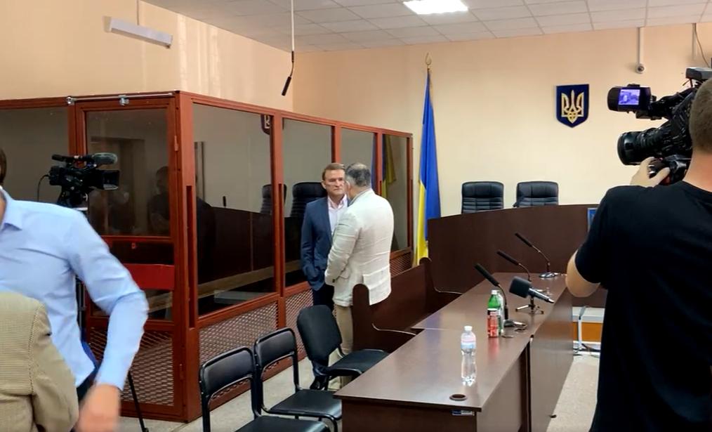Виктор Медведчук в суде 9 июля.