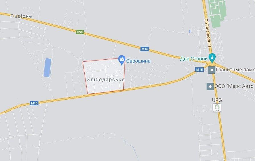 Поселок Хлебодарское расположен в Авангардовской поселковой общине в Одесском районе