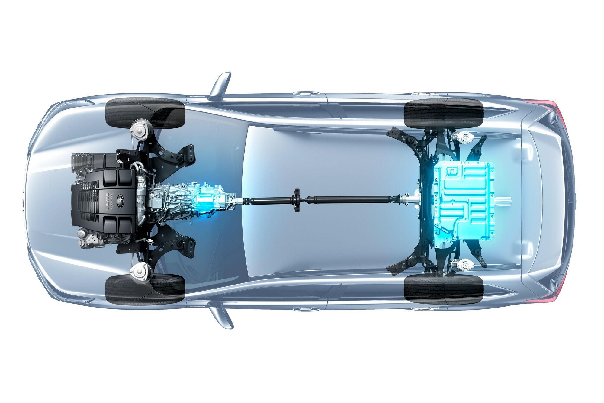 Для майбутніх моделей можливості повного приводу Subaru будуть розширені за рахунок технології електрифікації.
