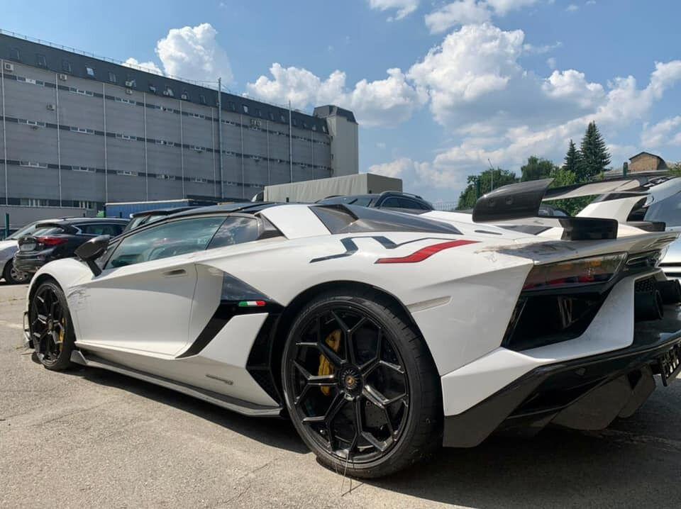 Власника Lamborghini оштрафували на 170 тисяч