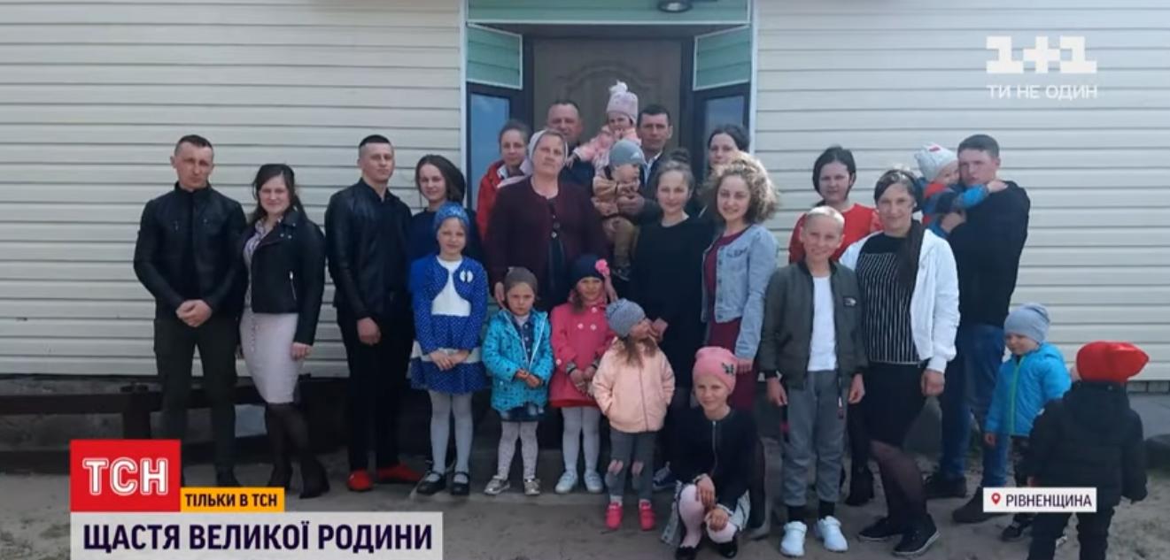 Светлана Ковалевич из села Глинного имеет 19 детей и столько же внуков
