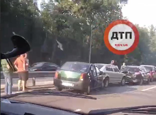 Авария произошла возле поворота на село Чайки